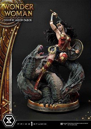 Wonder Woman versus Hydra Escala 1/3 (Concept Design By Jason Fabok) EX Bonus Version