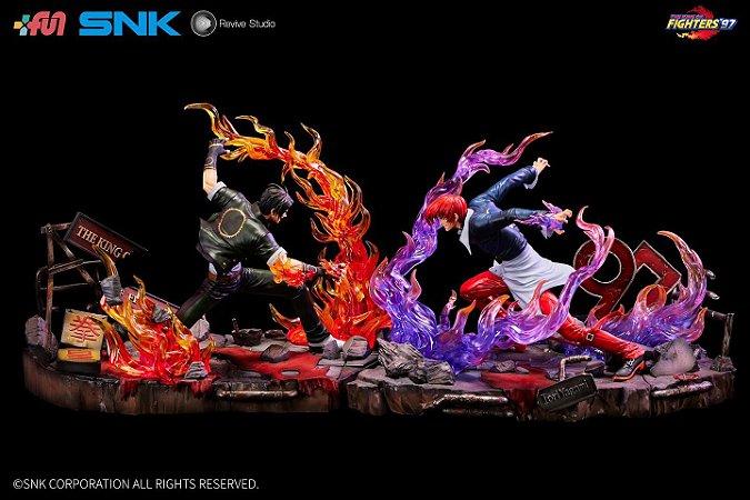 Figure King of Fighter 97 - Kyo Kusanagi vs Iori Yagami - Escala 1/6 (Pre-Order)