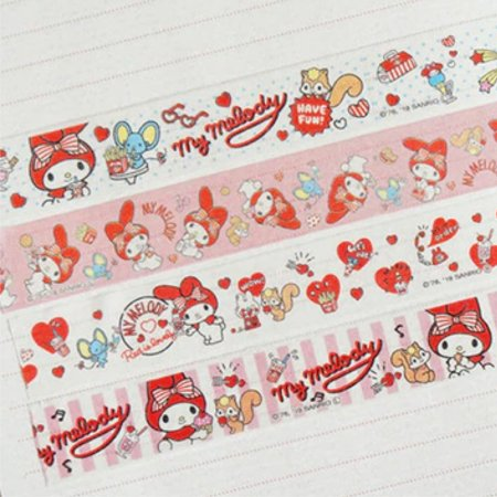 Washi Tape (Fita Decorativa) My Melody (unid.)