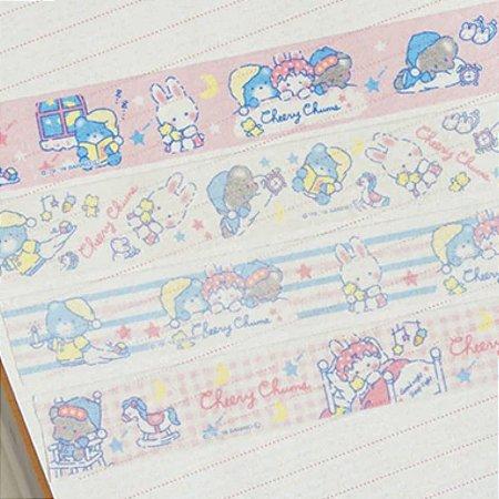 Washi Tape Sanrio (Fita Decorativa) Cheery Chums (unid.)