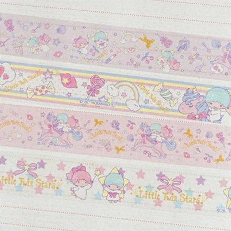 Washi Tape Sanrio (Fita Decorativa) Little Twins Stars (unid.)