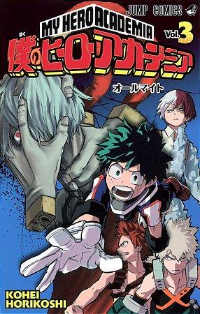 Mangá em Japonês Boku no Hero Academia vol. 3