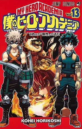 Mangá em Japonês Boku no Hero Academia vol. 13