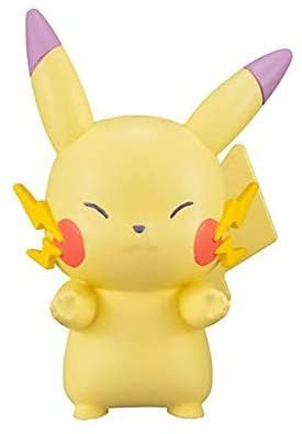 Nintendo Pokemon Line Up Marching Pastel Color Mini Figure 2 - Pikachu 10000 Volt