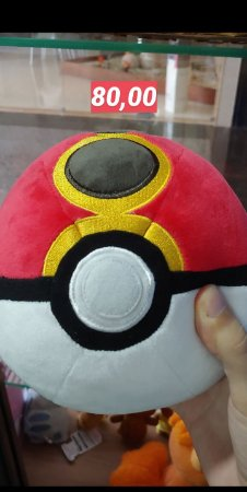 Repeat ball Pokémon plush