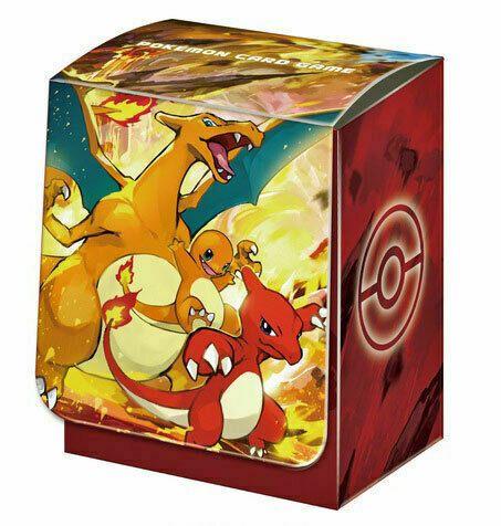 Deckbox Pokémon Charizard, Charmeleon & Charmander