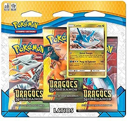 Triple Pack Pokémon tcg Dragões Soberanos