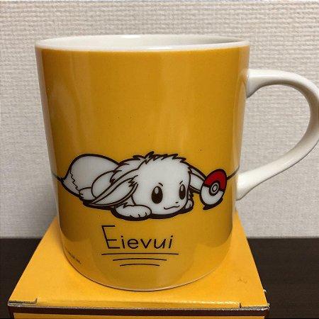Caneca Eevee e Pikachu Softbank