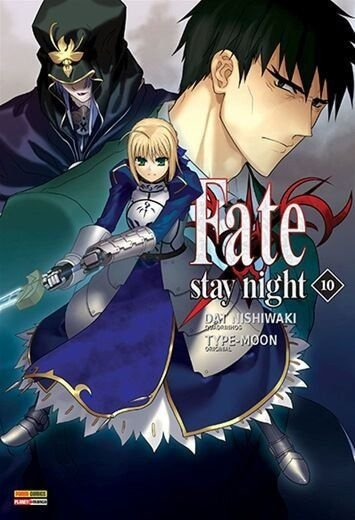 Fate stay night volume 10 semi-novo