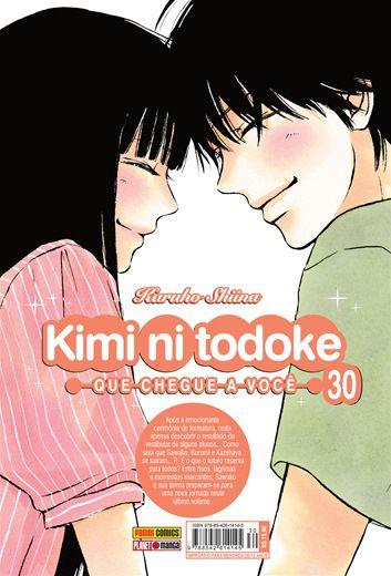 Kimi ni todoke volume 30