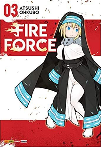 Fire Force volume 3 Semi-novo