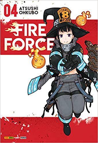 Fire Force volume 4 semi-novo