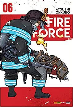 Fire Force volume 6 semi-novo