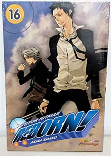 Tutor Hitman Reborn volume 16 semi-novo