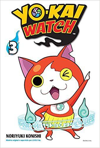 Yo-kai Watch volume 3 semi-novo