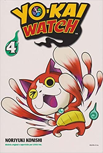 yo-kai watch volume 4 semi-novo