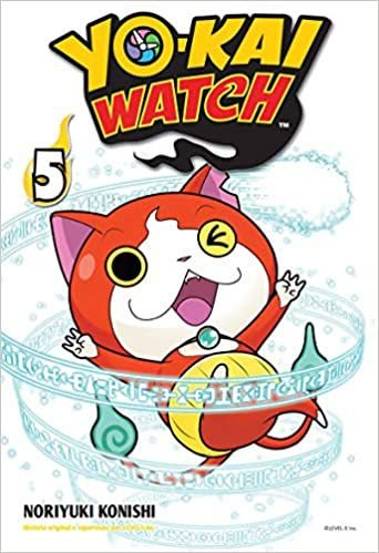 Yo-kai watch volume 5 semi-novo