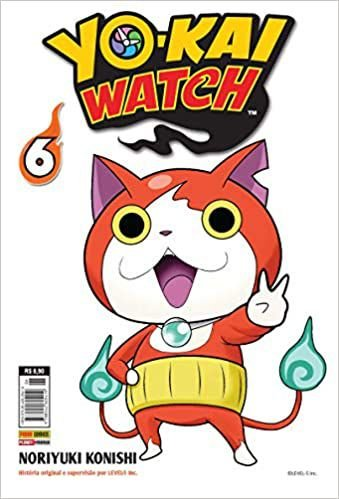 yo-kai watch volume 6 semi-novo