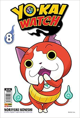 Yo-kai Watch volume 8 semi-novo