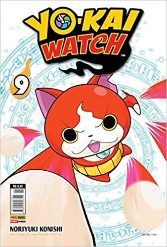 Yo-kai watch volume 9 semi-novo