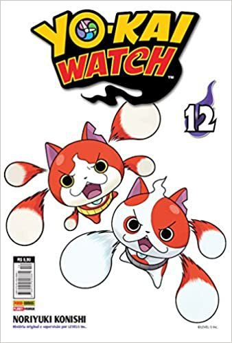 Yokai watch volume 12 semi-novo