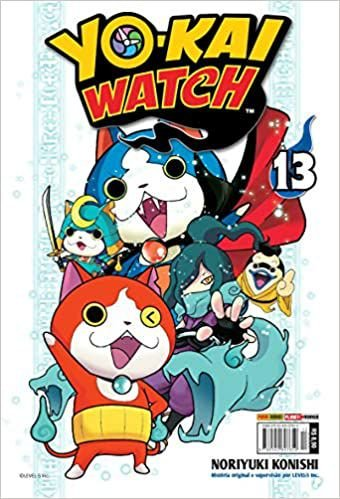 Yo-kai watch volume 13 semi-novo