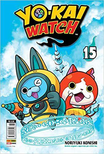 Yo-kai watch volume 15 semi-novo