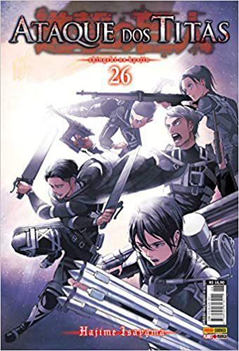 Ataque dos Titãs volume 26