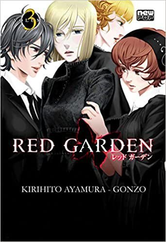 Red Garden volume 3 semi-novo