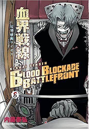 Blood Blockade Battlefront volume 8 semi-novo