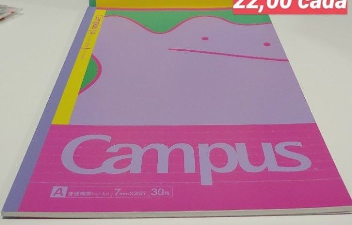 Caderno Campus Pokémon Ditto