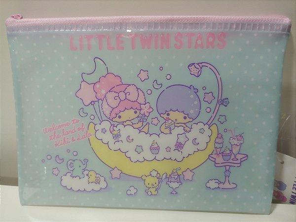 Bolsinha zíper Little Twin Stars