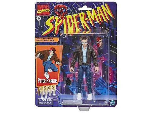 Spider-Man Marvel Legends Retro Collection - Peter, Green Goblin, Gwen and Spider Man PRÉ-VENDA PACOTE