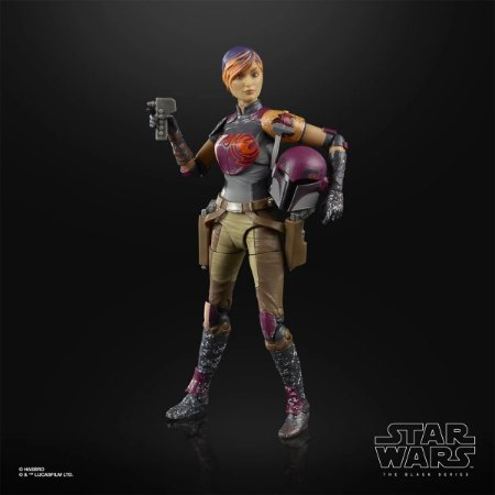 Star Wars The Black Series Sabine Wren 6-Inch Action Figure (Pré-venda)