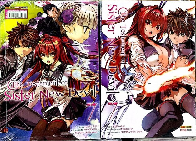 The Testament of sister new devil volume 7 semi-novo