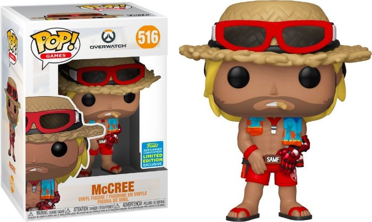 Funko Pop! Games: Overwatch - McCree (Summer Convention 2019)