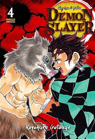 Demon Slayer - Kimetsu No Yaiba - Volume 4 (Pronta Entrega)