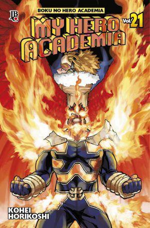 My Hero Academia volume 21