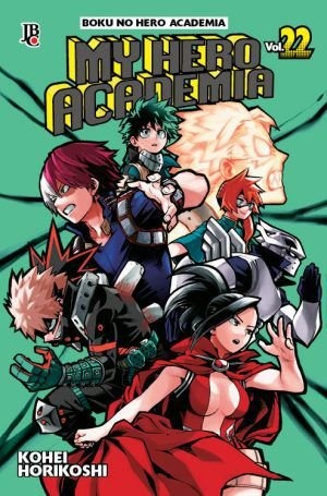 My Hero Academia volume 22