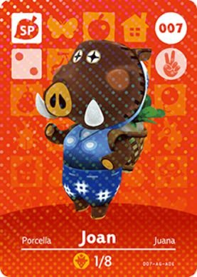 Amiibo Card - Joan