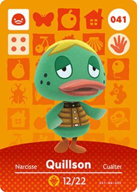 Amiibo Card - Quillson