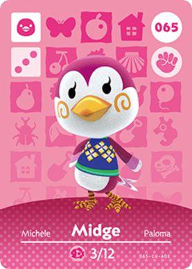 Amiibo Card - Midge