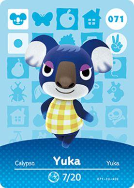 Amiibo Card - Yuka