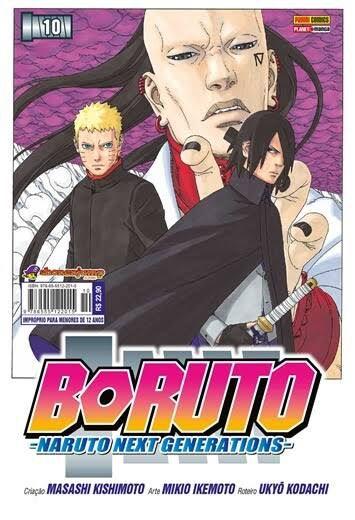 Boruto - Volume 10 (Pronta Entrega)