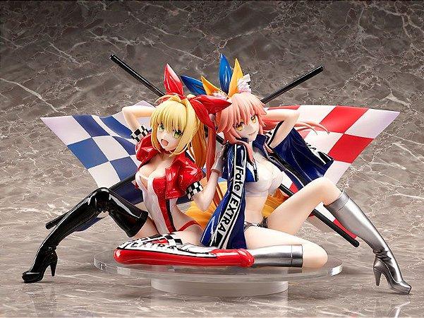 Fate/Extra Nero Claudius & Tamamo no Mae TYPE-MOON Racing ver. 1/7 Complete Figures (Pre-order)