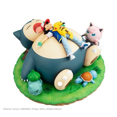 G.E.M. Series Pokemon Nap with Snorlax Complete Figure(Pre-order)
