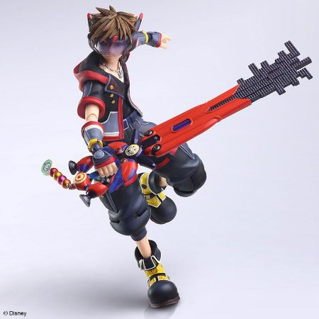 KINGDOM HEARTS III BRING ARTS Sora Version 2 Action Figure(Pre-order)