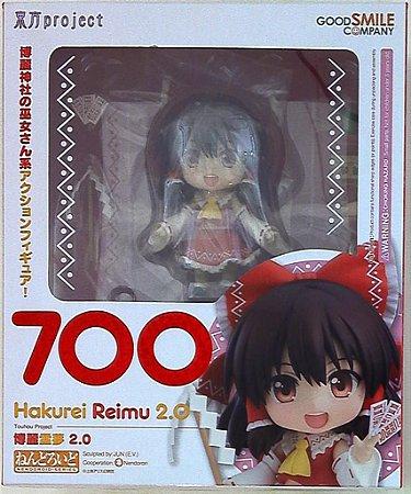 Nendoroid 700 Hakurei Reimu 2.0 Semi nova