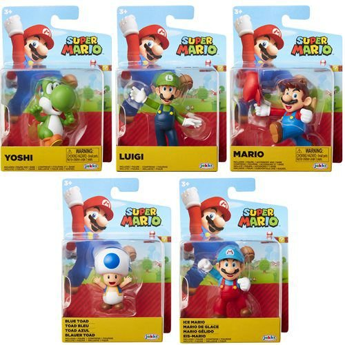 Nintendo Mini Figures Set 5 peças