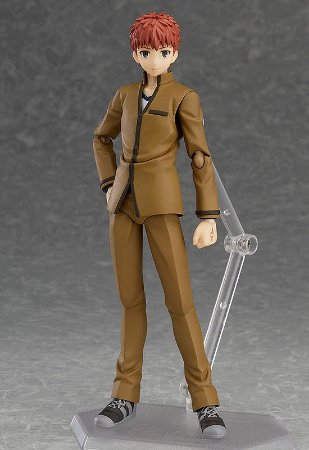 Figma 278 - Fate Stay Night - Emiya Shirou 2.0 (Semi Novo)